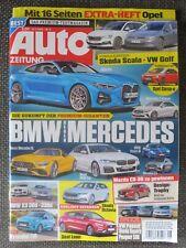 Auto Zeitung 8/2020 Hyundai i10 Fiat 500 Hybrid BMW i8 Grandland Lexus wie Neu