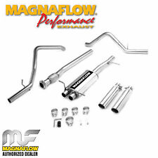 "MAGNAFLOW 16741 3"" CAT BACK DUAL SPLIT EXIT KIT 2007-2008 GMC SIERRA 5.3L"