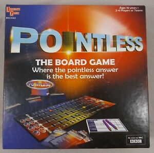 Pointless The Board Game University Games Family Party Trivia Quiz BBC