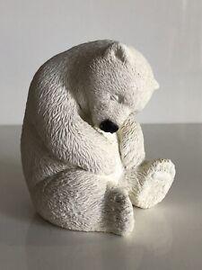 "Marty's Sculpture Bear Foot Polar Bear ""Dozer"" #7805 Figurine"