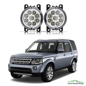 LAND ROVER DISCOVERY 4 FULL LED FOG LIGHTS DRIVING LAMPS 2010-2013