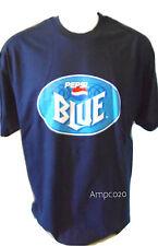 Pepsi Blue Logo Hanes Navy Blue T-Shirt XL New Old Stock Vintage Soda Cola Tee