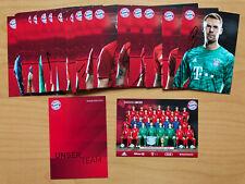 FC Bayern München Autogrammkarte 2019-20 original signiert 1 AK aussuchen