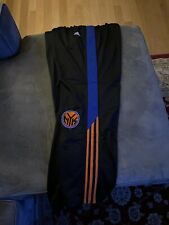 New York Knicks XL Adidas Black Snappants
