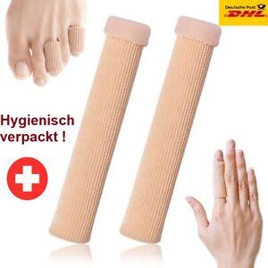 Silikon Zehenschutz Schlauchbandage Fingerbandage Fingerschutz GelL= 15cm