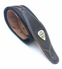 Soldier High-End Leather Padded Guitar Strap for Acoustic Guitar Bass