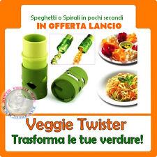 Veggie Twister spirale taglierina Peeler grattugia Guarnizione di frutta verdura