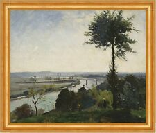 The tree and the River III Hill his Bois le Roi France River B a3 00964