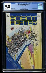 Magnus Robot Fighter (1991) #2 CGC NM/M 9.8 White Pages