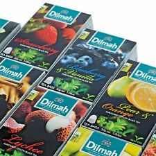 Dilmah- Flavored Pure Ceylon Black Tea in Tea  Bags Free shipping