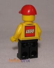Lego Store Delivery Driver from set 60097 City Square with Lego Logo NEW cty579