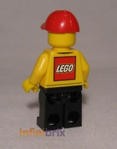 Lego Store Delivery Driver Minifigure (Lego Logo) from set 60097 City NEW cty579