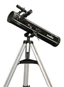 SkyWatcher Astrolux 76mm Newtonian Reflector Telescope 10708 - New with warranty