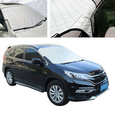 SUV Car Front Windshield Frost-proof Snow Ice Cover Sun Shade Winter Silver PVC