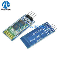 Wireless Serial 4 Pin HC-06 RS232 Bluetooth RF Transceiver Module With Backplane