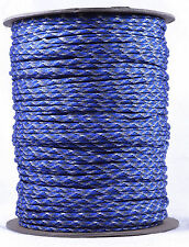 Blue Camo - 550 Paracord Rope 7 strand Parachute Cord - 1000 Foot Spool
