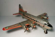 Line Mar Plane Japan Tin Litho. Friction Trans World Airlines Airplane TWA