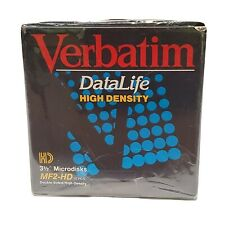 "Verbatim DataLife MF-2HD, Double-Sided/High-Density, 3.5"" Floppy, 10 Diskettes"