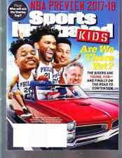 October 2017 Joel Embiid Ben Simmons 76 Sports Illustrated For Kids NO LABEL WB