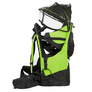 ClevrPlus Deluxe Baby Carrier Outdoor Light Hiking Child Backpack Camping Green