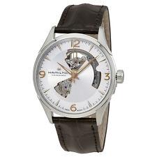 Hamilton Jazzmaster Open Heart Silver Dial Mens Watch H32705551