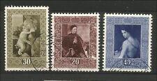Gestempelte Briefmarken aus Liechtenstein