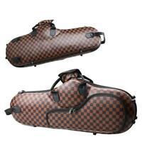 New High Quality Protable Coffee Cloth Alto Sax Saxophone Bag Gig Case