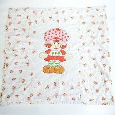 VTG Shortcake Strawberry throw blanket 40 x 43
