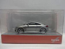 Herpa 038355 Audi TT Coupe  eissilber metallic silber 1:87 Neu