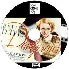 Dangerous Bette Davis, Franchot Tone, John Eldredge 1935 DVD