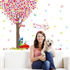 árbol pájaro Adhesivos para Infantil cuarto del bebé,Vinilo De Pared Extraíble