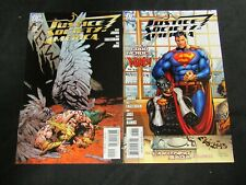 Justice Society of America #2 & 7 (2007) Both Variant Covers NM G107