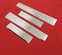 2014Up Ford Tourneo Courier Chrome Door Sill Scratch Protector Guard 4dr S.Steel