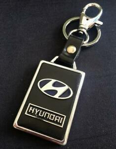 PU Leather Black Buckle Keyrings Car Logo Key Ring Chain Keyrings