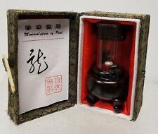 Antique Vintage Chinese Souvenir Miniature Minisculpture Pearl Sculpture Dragon