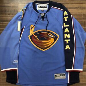 Reebok Ilya Kovalchuk Atlanta Thrashers NHL Hockey Jersey Vintage Blue Home XXL
