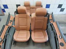 LEDERSITZE braun + BMW 3er E92 Coupe + Lederausstattung Sitze Sportsitze Memory