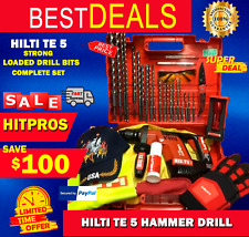 Hilti Te 5 Lk Free Extras Strong Durable Loaded Drill Bits Fast Shipping