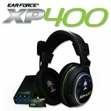 Turtle Beach Ear Force XP400 Dolby Surround Sound Gaming Headset, Black/Green