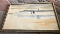 Chinese Watercolour Signed A Boots Picture Framing Department M.A.S164 Vintage