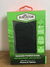 Griffin Rugged Survivor Portable Power Pack 1050 mAh IP-55 rated drop tested -