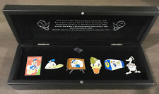 "Disney Catalog Donald Duck ""Through the Years"" Boxed Set 6 Pins NEW IN BOX 31362"