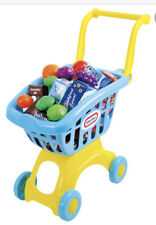 Little Tikes Shopping Trolley And Shopping To Put In The Trolley