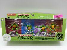 Teenage Mutant Ninja Turtles Clip & Go Collectible Figurines 2014 Set -BRAND NEW