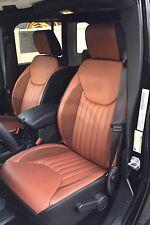 2013 2014 2015 2016 2017 2018 Jeep Wrangler JK 4-Door Custom Leather Seat Covers