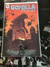 Godzilla Oblivion #4 1:10 Incentive Variant 2016  Michael Walsh Cover IDW