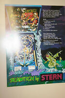 STERN Seawitch pinball flyer brochure pamphlet BRAND NEW. Year 1980.