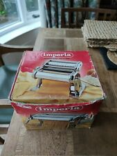 Imperia pasta machine. Used once