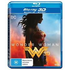 Wonder Woman (3D Blu-ray, 2017, 2-Disc Set) (Region B) Aussie Release