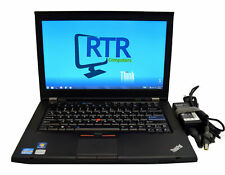 "Lenovo ThinkPad T420s Laptop i5-2410M 2.30GHz CPU 4GB 320GB HDD 14"" Win7 C Grade"